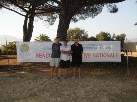 Nos pétanqueurs en Corse